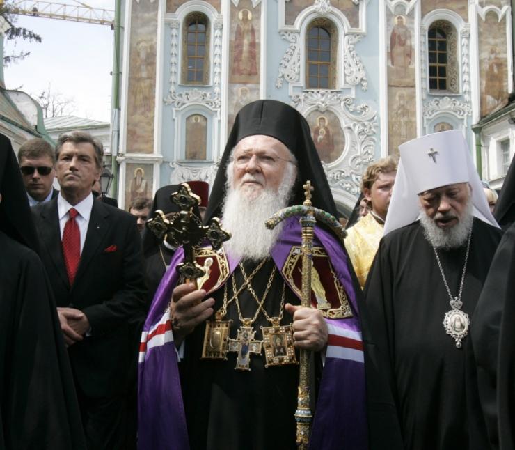 Konstantinoopoli patriarh allkirjastas Ukraina õigeusu kiriku tomose