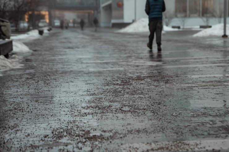Lumised teeolud võivad tuua kohati ka libedust