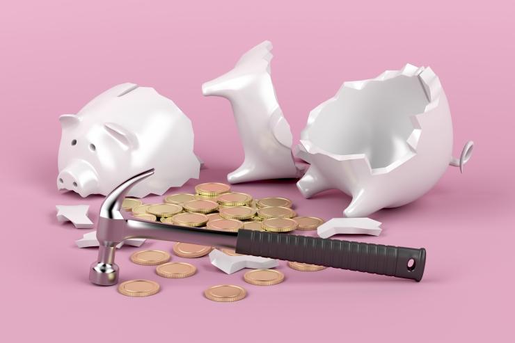 Eesti teise samba pensionifondidest jäid mullu plussi vaid viis