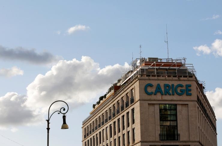 Itaalia valitsus aitab raskustes Carige panka päästa