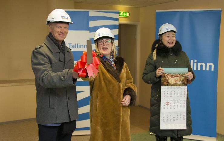 FOTOD JA VIDEO! Tallinna Vaimse Tervise Keskuse tugikodu Pelgurannas saab pooleteise miljoni euro eest uue kuue