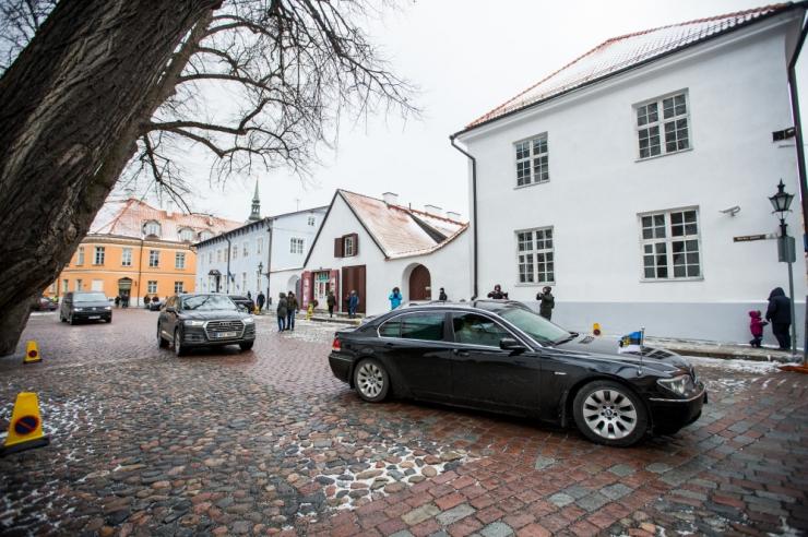 Talvine parkimiskord Tallinna vanalinnas lükkub edasi