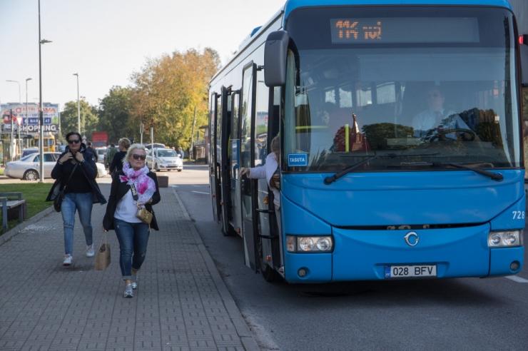 Keskerakond tahab tasuta ühistransporti laiendada kohalikelt kõigi elanikeni