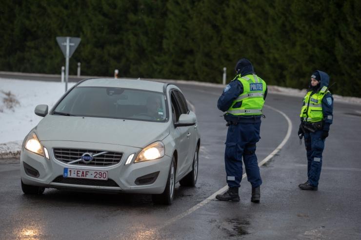 Politsei tabas ööpäevaga üheksa joobes sõidukijuhti
