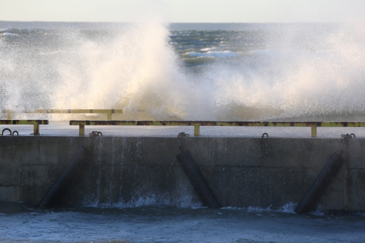 Loodetuul toob Läänemerele kuni kolmemeetrised lained
