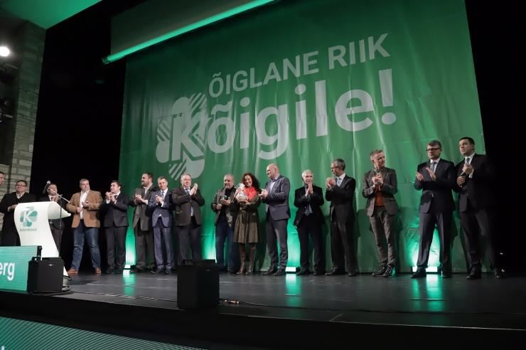 VIDEO JA GALERII: Keskerakond lubas õiglast riiki kõigile