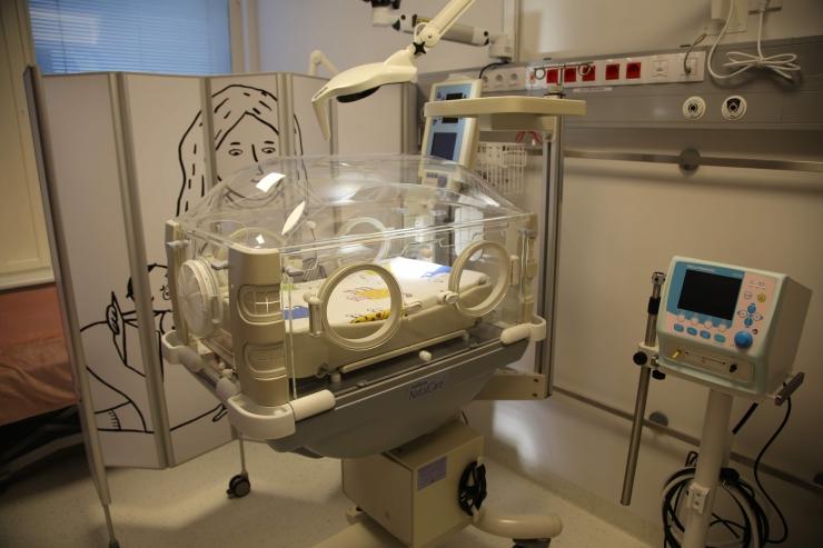 Lastehaigla avas vastsündinute intensiivravi perepalatid