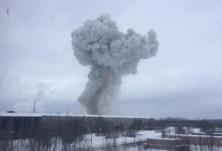 Päästeamet: keemiatehase põleng Venemaal Eestit ei ohusta