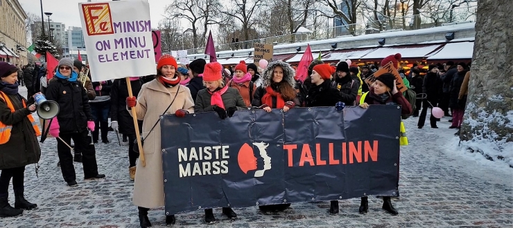 FOTOD JA VIDEO! Marsi korraldaja: naiste marss pole meeste vastu, see on ühe unistuse poolt