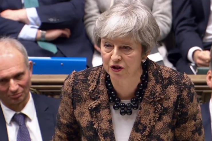 May Brexitit edasi ei lükka