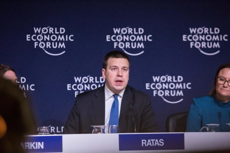 Ratas Davosis: Euroopa ühtne digitaalne siseturg tuleb panna paremini tööle