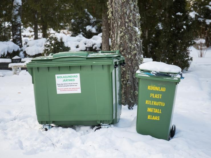 Kevadel hakatakse Tallinna kalmistutel jäätmeid liigiti koguma