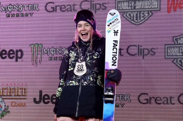 Kelly Sildaru võitis pargisõidus kolmanda X-Mängude kuldmedali