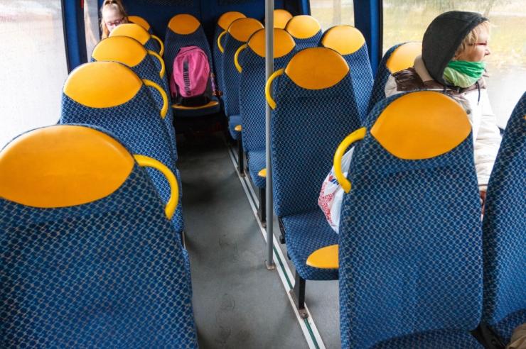 Politsei: vaid üksikud bussireisijad kinnitavad turvavöö