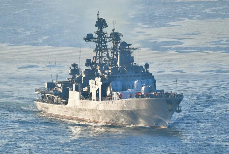 Moskva: Vene sõjalaev viib Läänemerel läbi raketiõppuse