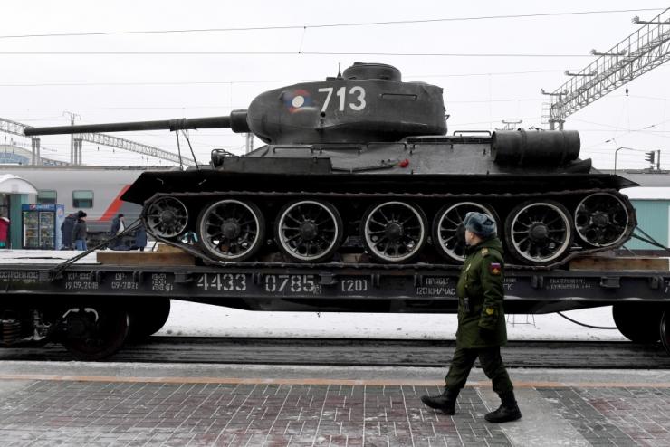 Allikas: Venemaa tugevdas vägesid Kaliningradis tankipolguga