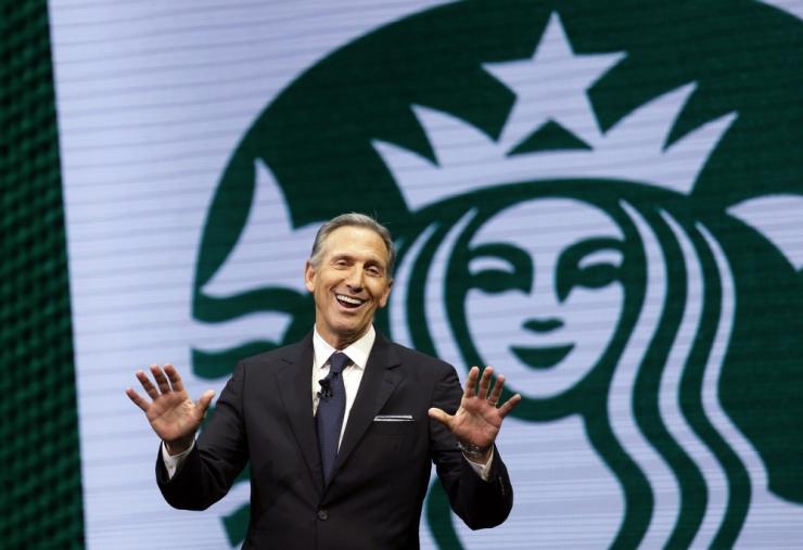TRUMPI VASTU: Starbucksi endine juht kaalub USA presidendiks pürgimist
