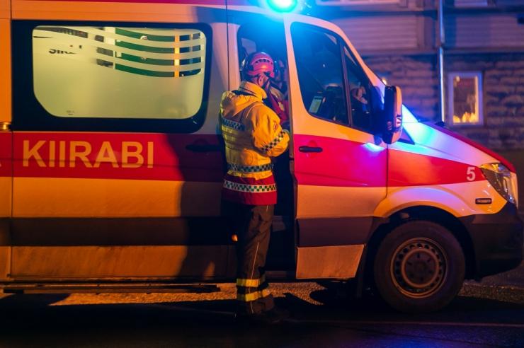 Veoki ja liinibussi kokkupõrkes sai vigastada üheksa inimest