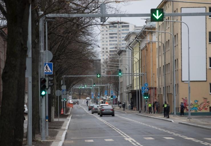 Muutsuunaline Gonsiori tänav suurendas liiklusohustust poole võrra