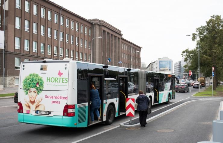 Alates reedest võib esineda bussiliikluses hilinemisi