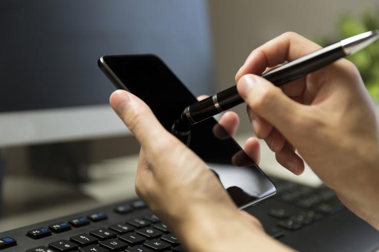Kalleid nutitelefone kindlustatakse haruharva