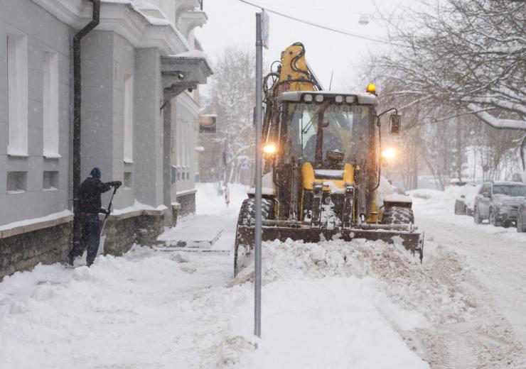 Laats: Mustamäe on lumme uppunud, tööd tuleb teha palju paremini