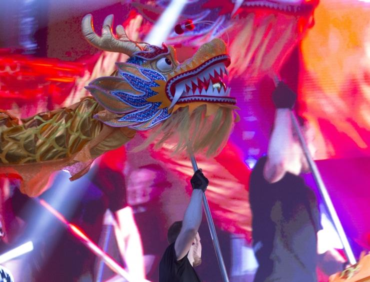 FOTOD! Tallinn tähistas Hiina kalendri järgi uue aasta saabumist