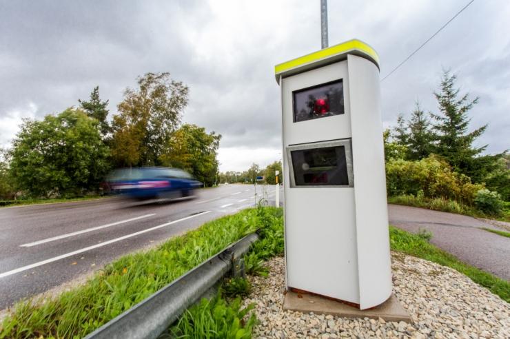 Kiiruskaamerad fikseerisid jaanuaris üle 6200 rikkumise