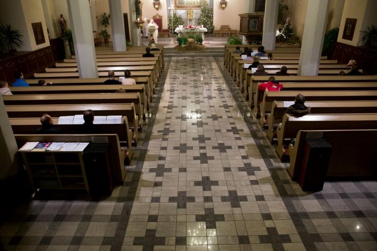 Linn toetas katoliku kiriku remonti 125 000 euroga