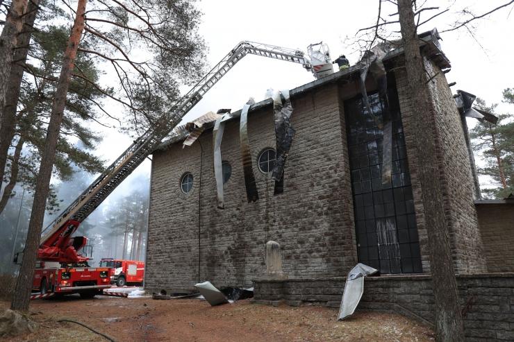 Liiva kalmistu kabelihoone taastamiseks kulub üle 200 000 euro