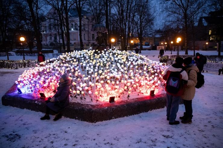 Tallinna bastionite vööndi pargid saavad valgustatud