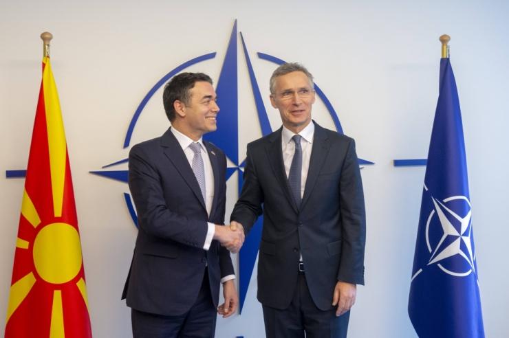 NATO riigid allkirjastasid Põhja-Makedoonia liitumisprotokolli