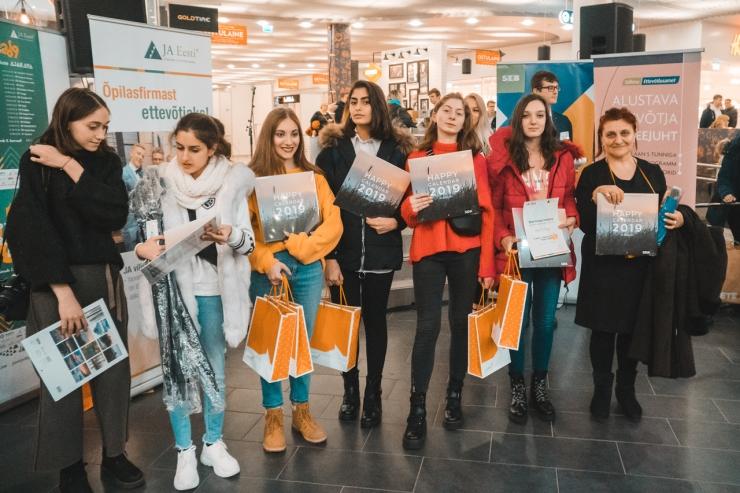 Õpilasfirmade laadal tunnustati gruusia ketsimaalijad