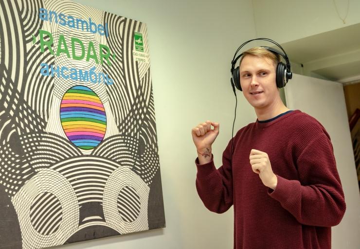 FOTOD: Rahvusarhiiv avas ajaloohõngulise vinüülplaatide näituse