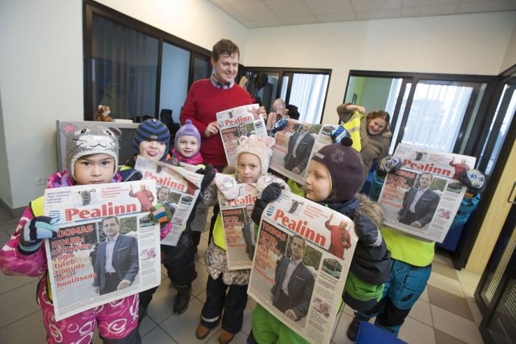 FOTOD! Vaata, kuidas uudistasid ajakirjanikuametit viieaastased mudilased