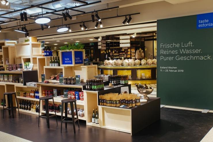 Saksamaa kaubamajas löövad laineid Eesti maiustused ja vinnutatud ulukiliha