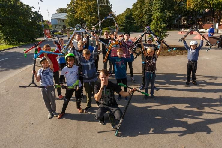 Põhja-Tallinnasse rajatakse uus skate-park