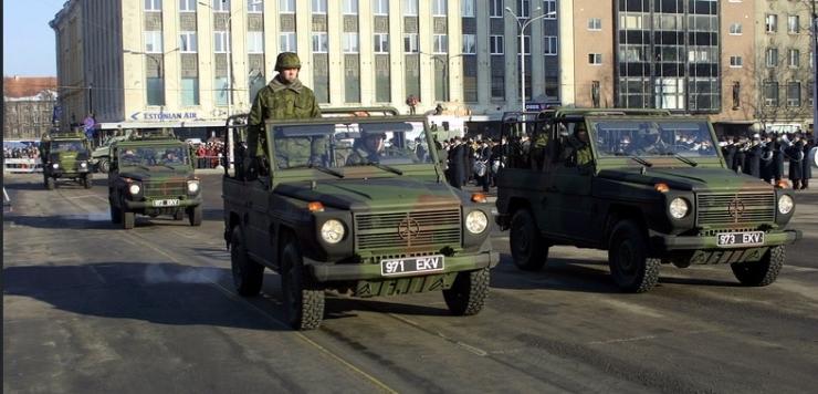 Liikluskorraldus Eesti Vabariigi 101. aastapäeva ürituste ajal