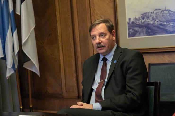 Moskva linnavalitsuse juhtivametnik arutas Taavi Aasaga koostööd