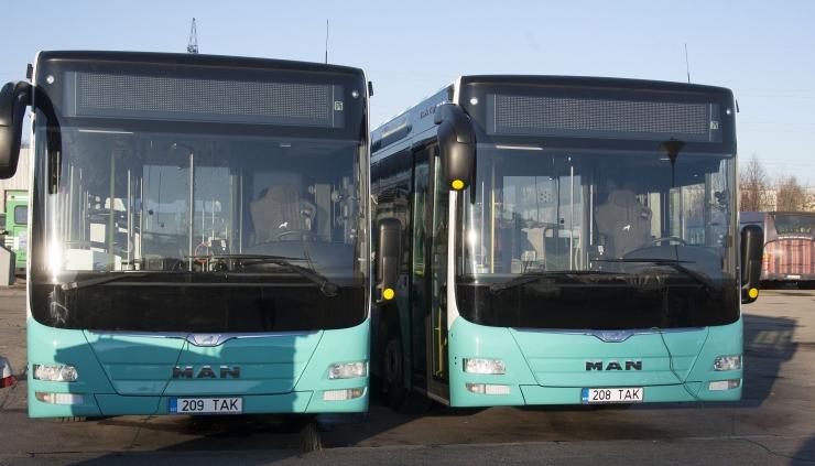 Tallinna Linnatransport jätkab bussiliinide tihendamist