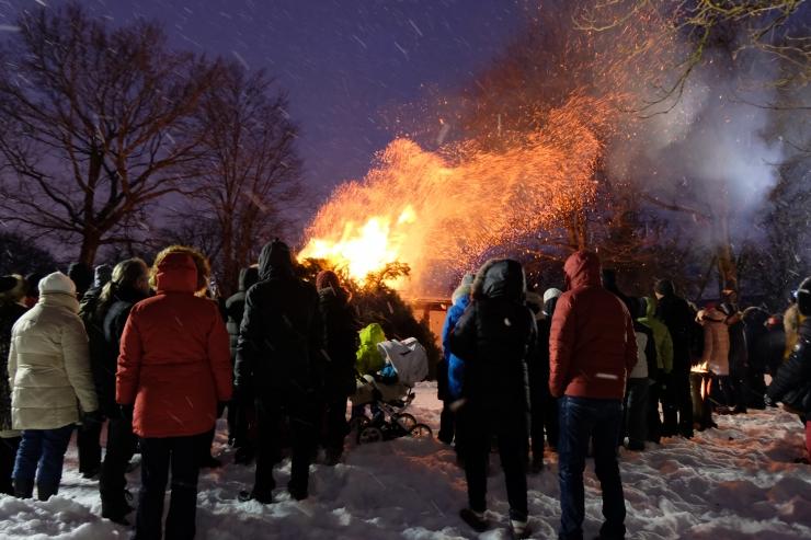 Pirital korraldatakse vabariigi auks talvetuli
