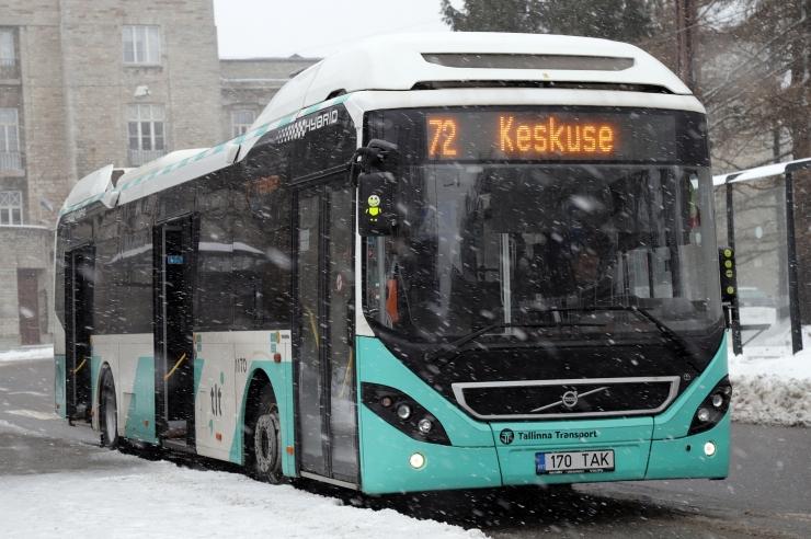 Bussid sõidavad juba peaaegu endise tihedusega