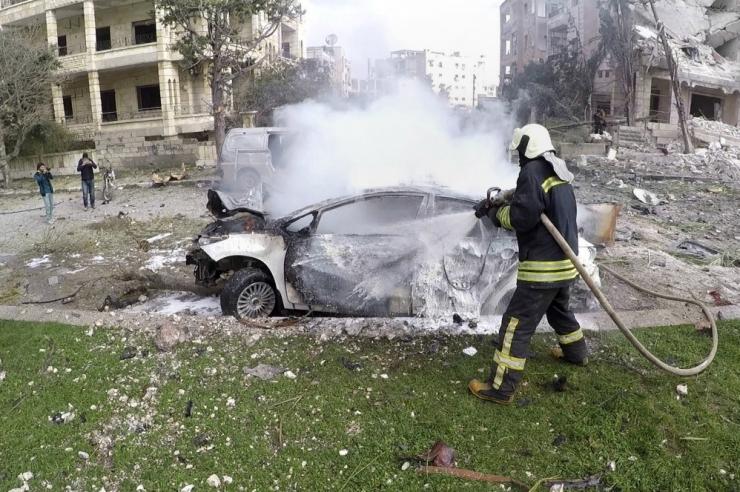 Aktivistid: Idlibis hukkus kaksikplahvatuses vähemalt 17 inimest
