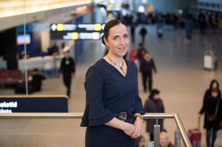 Tallinna Lennujaama juht Mürk-Dubout liitub Tallinki juhatusega