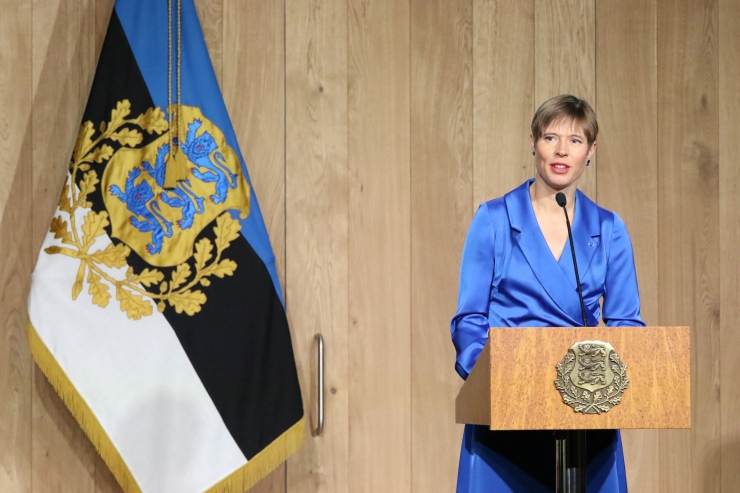 GALERII: President tänas Eesti tublimaid teenetemärgiga