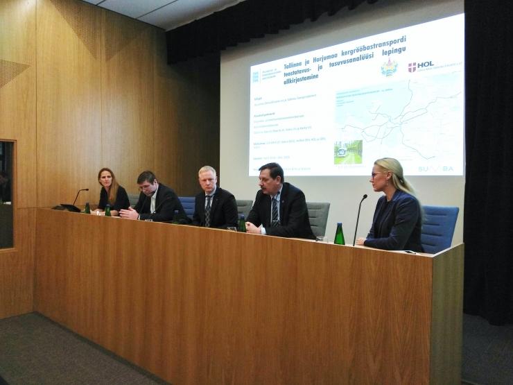 VAATA OTSE KELL 15: Tallinna ja Harjumaa kergrööbastranspordi hanke pressikonverents