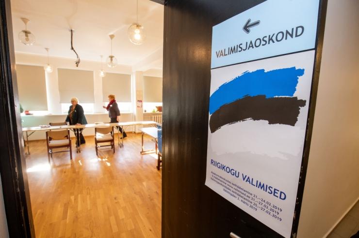 Tallinna valimisjaoskondades käis Riigikogu valimas 33 807 inimest