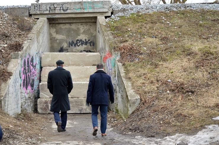 6afa36b1fe9 Eesti Raudtee sulges ette hoiatamata Kotka tänava jalakäijate tunneli.