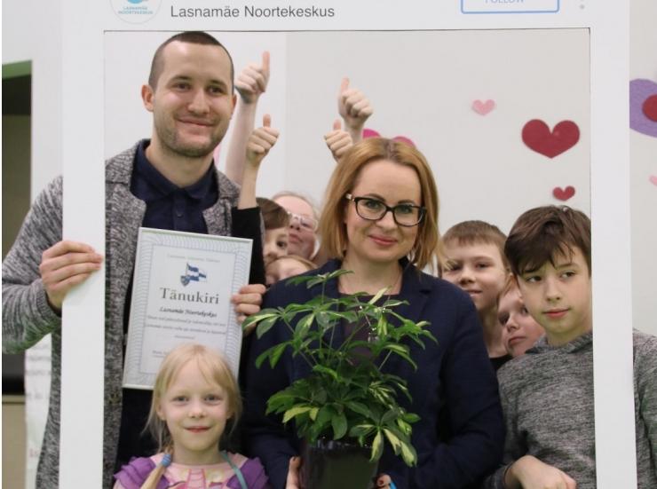 Lasnamäe noortekeskus tähistab sünnipäeva