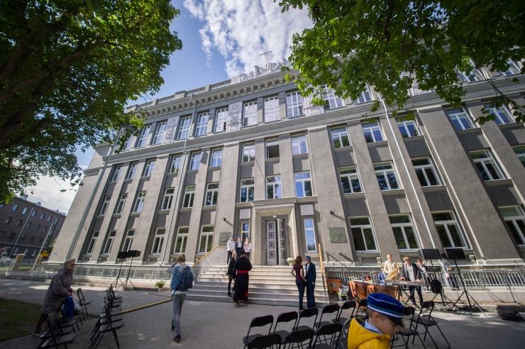 LINN VÕITIS: Gustav Adolfi gümnaasiumi hoone kohtusaaga sai lahenduse